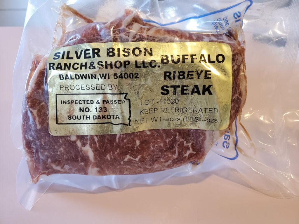 Bison Meat For Sale, Bison Ribeye Steaks for Sale