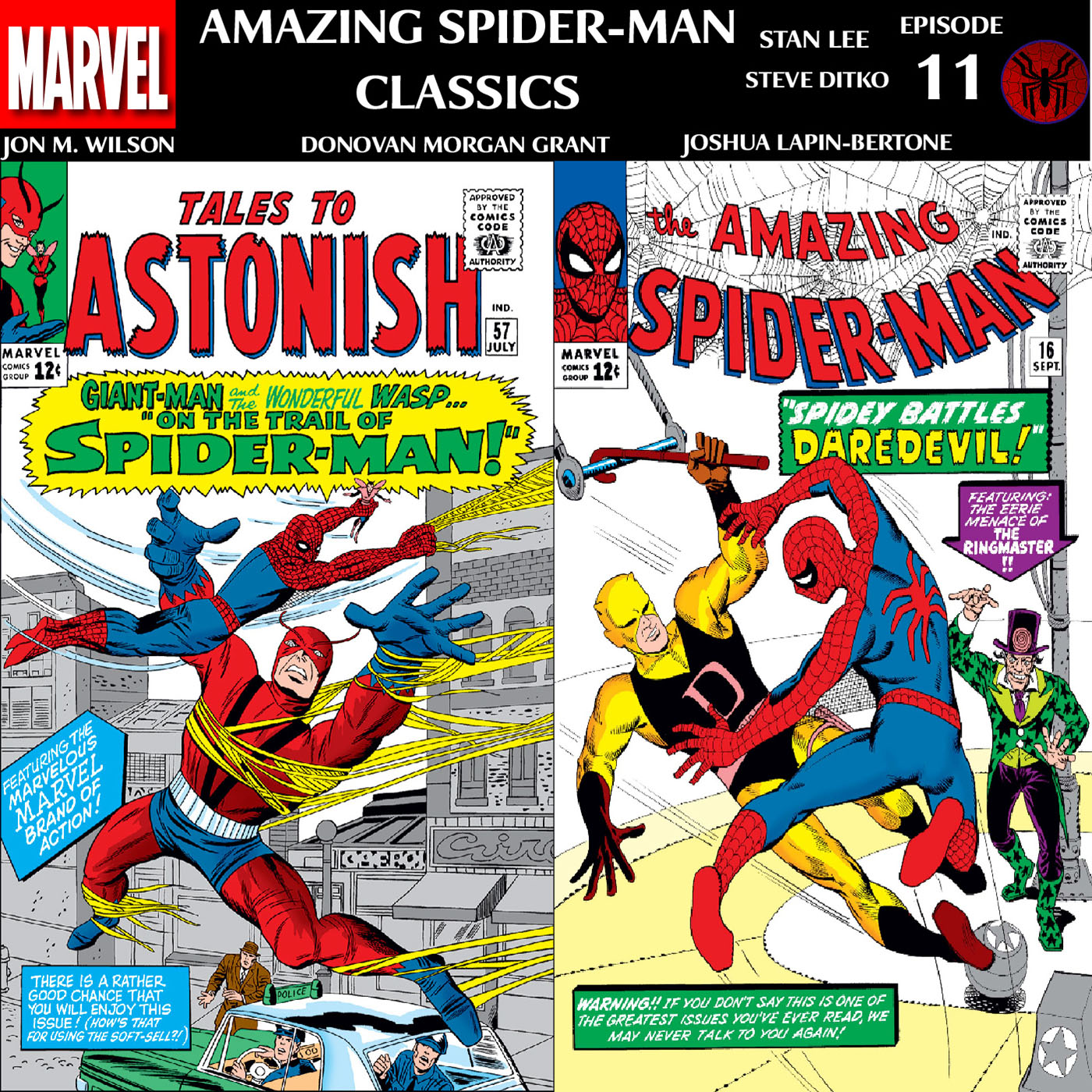 ASM Classics Episode 11: ASM 16 & Tales to Astonish 57