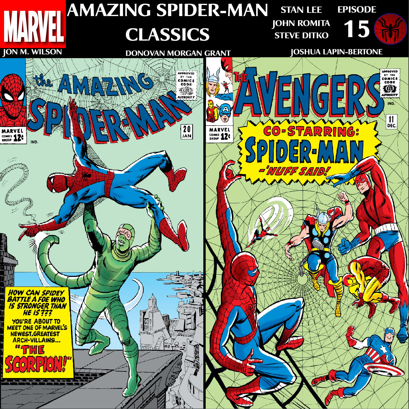 ASM Classics Episode 15: ASM 20 and Avengers 11