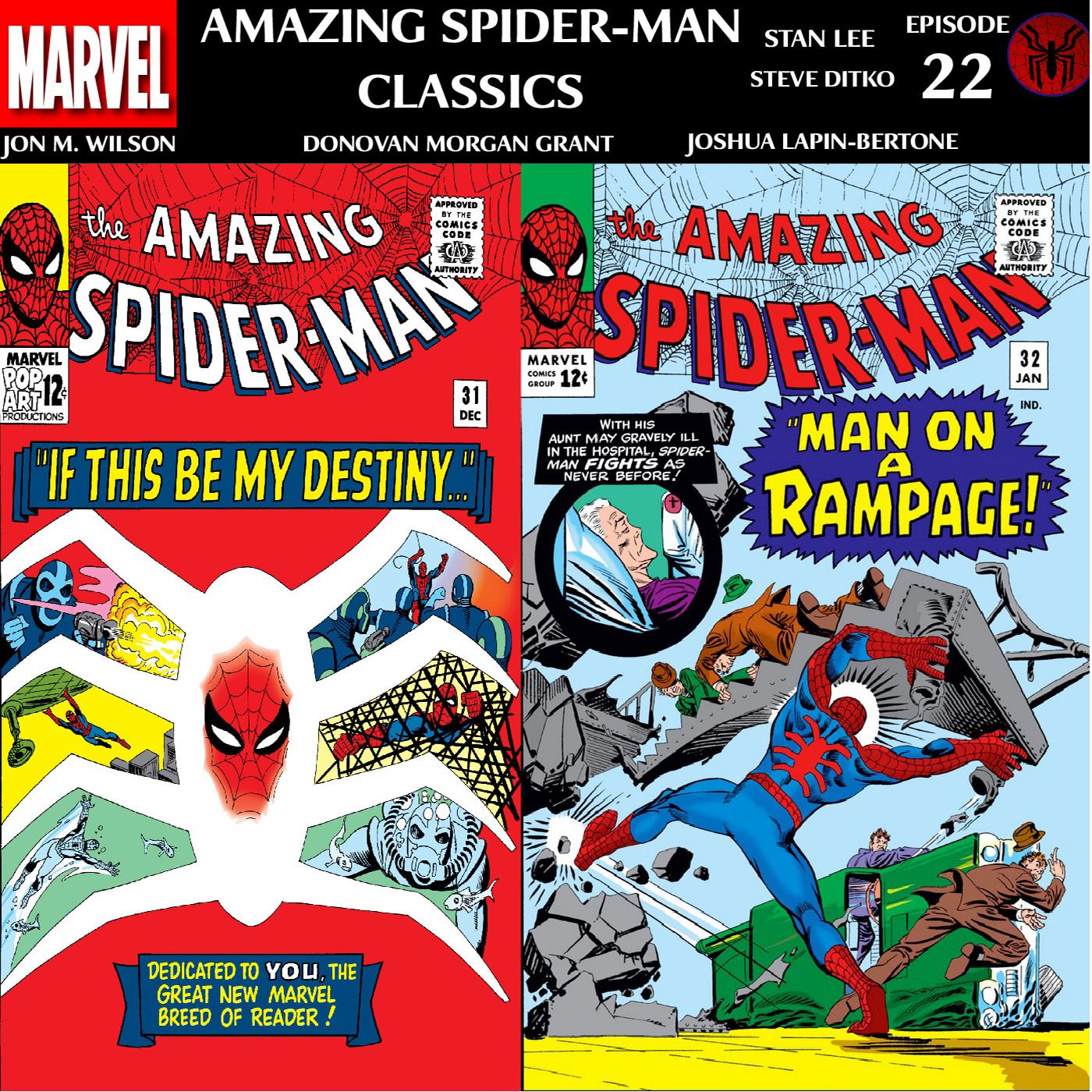 ASM Classics Episode 22: Amazing Spider-Man 31 and 32