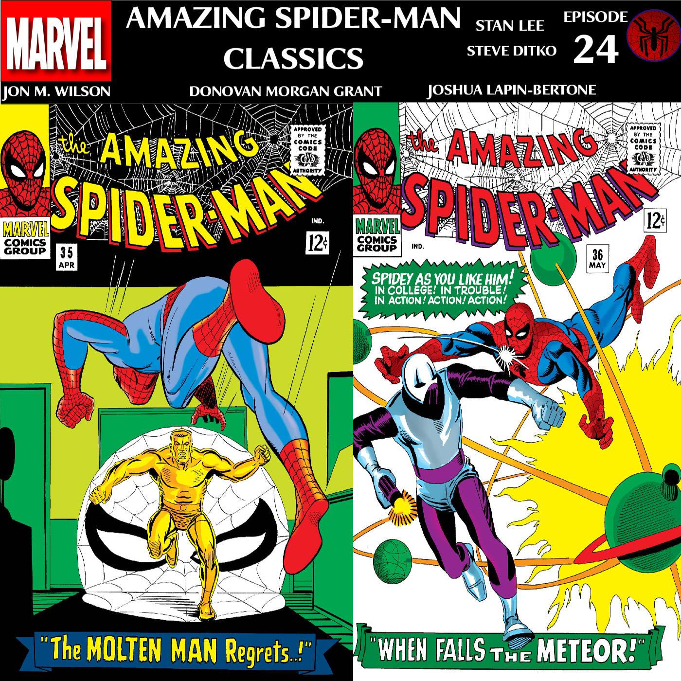 ASM Classics Episode 24: Amazing Spider-Man 35 and 36