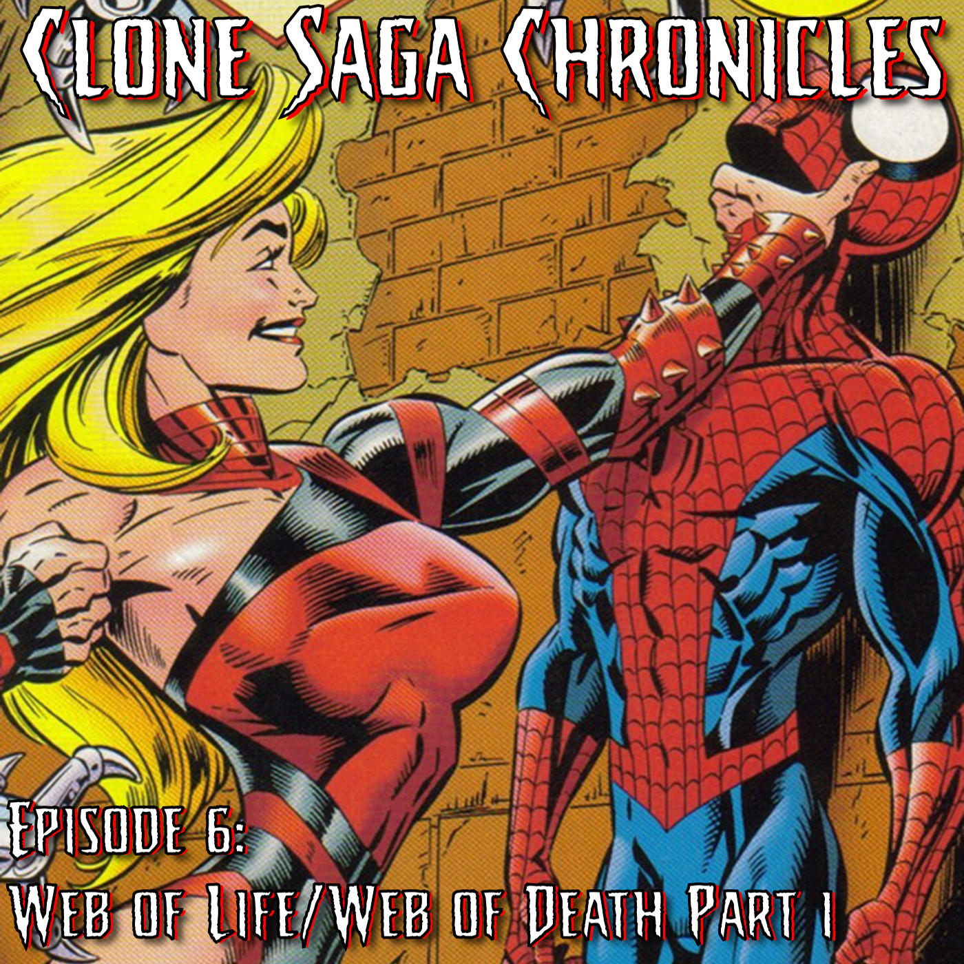 CSC Episode 6: Web of Death/Life Month 1 (Cover Date January 1995)