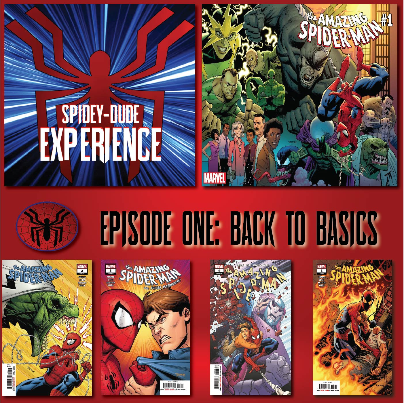 The SPIDEYDUDE EXPERIENCE EPISODE ONE: Back to Basics [Amazing Spider-Man 802-806 & FCBD 2018]