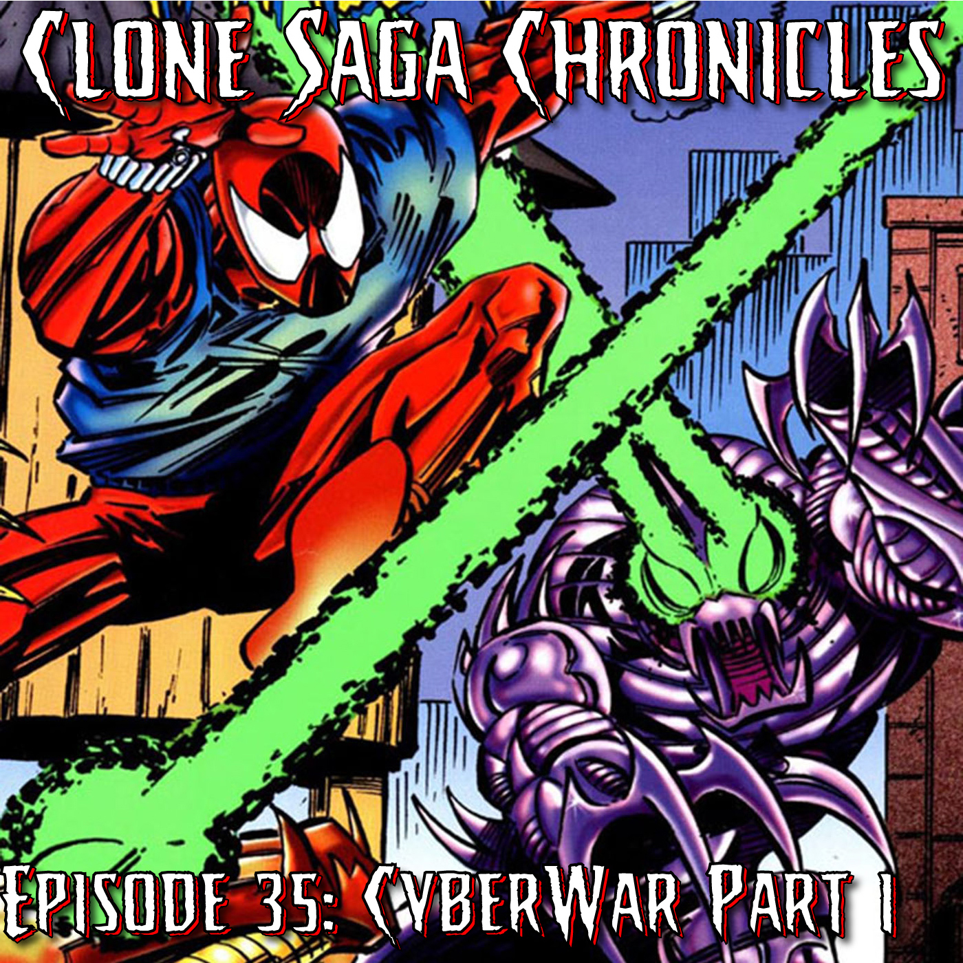 CSC Episode 35: Cyberwar (Part 1 and 2) Green Goblin 3 [Cover Date: Dec 1995]