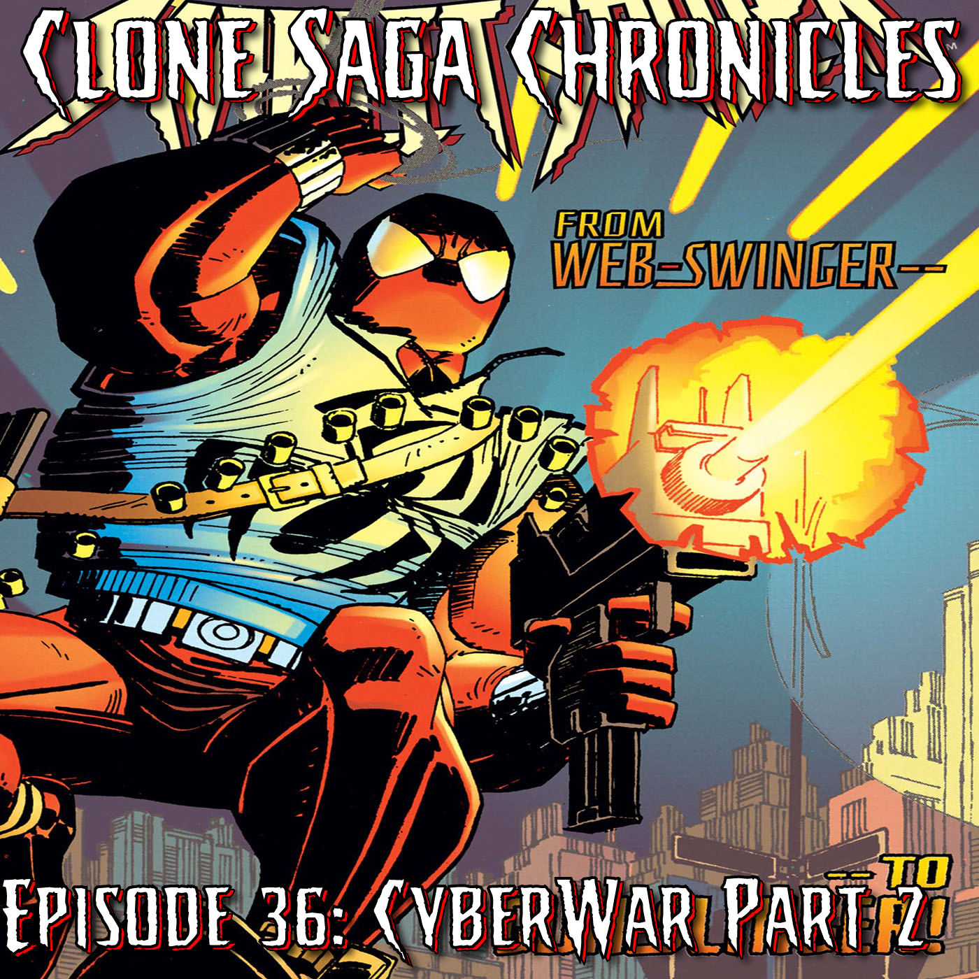 CSC Episode 36: Cyberwar Part 3 and 4 [December 1995]