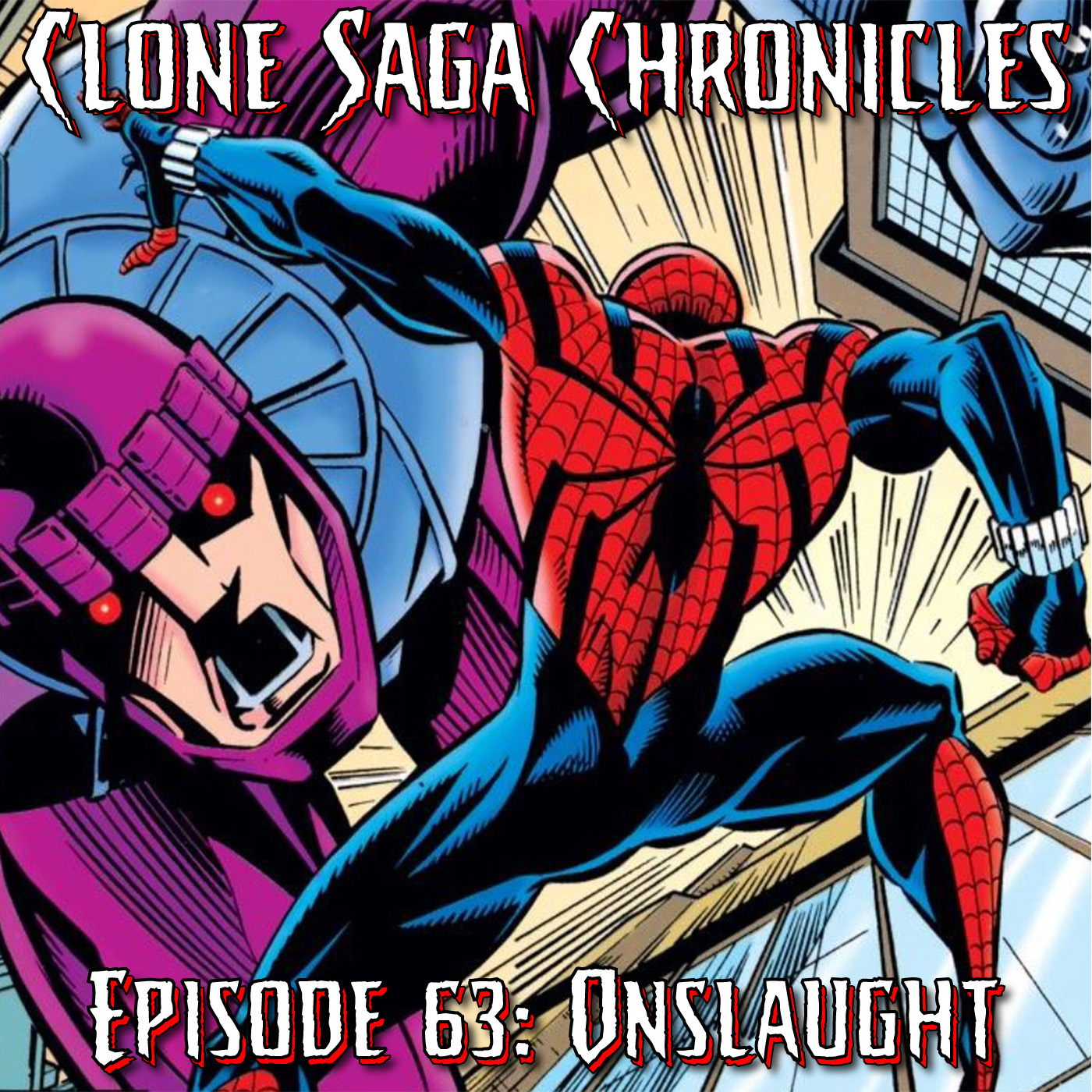 CSC Episode 63: Onslaught (Cover Date: Sept/Oct 1995)