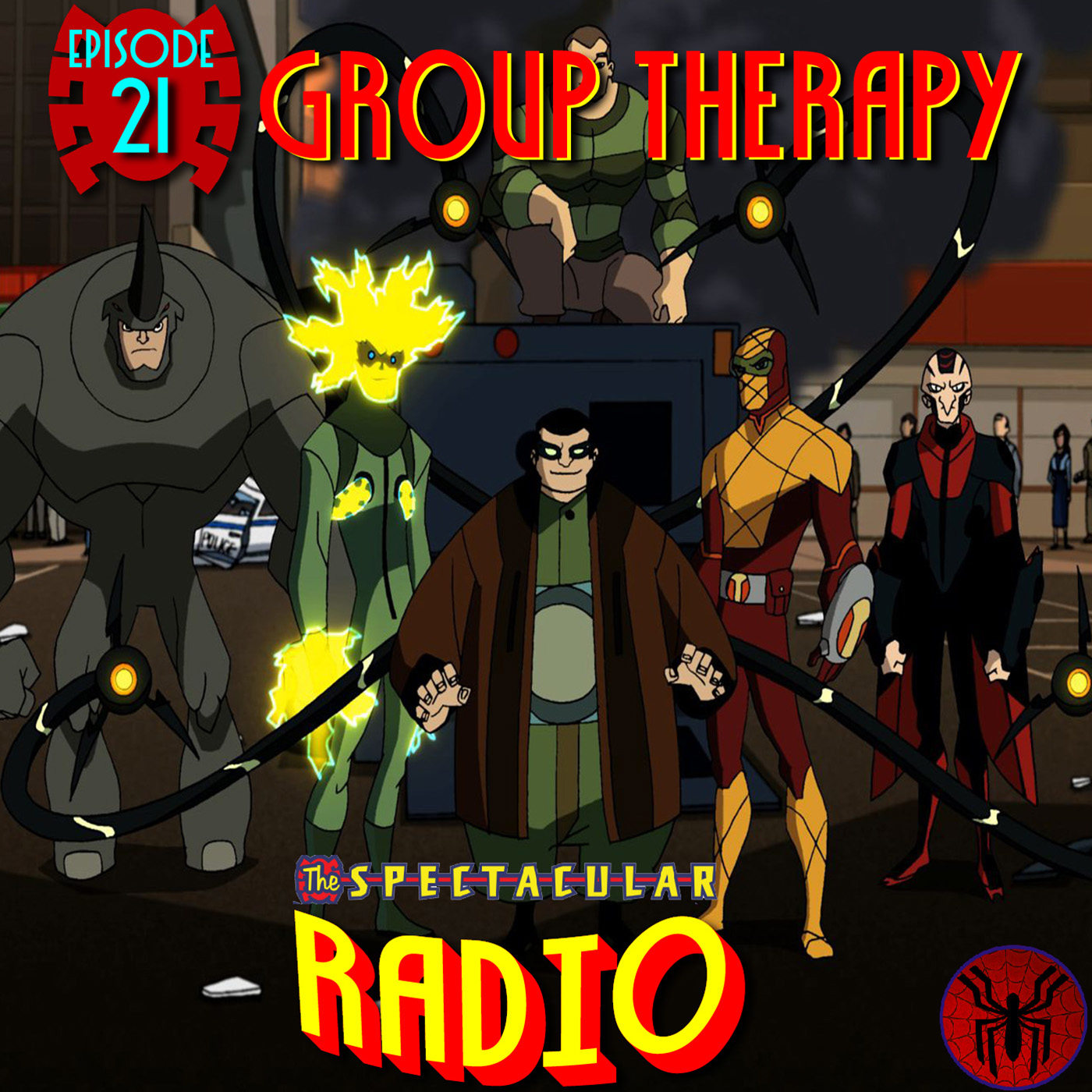 "Spectacular Radio Episode 21: ""Group Therapy"" With Greg Weisman & Andrew Robinson"