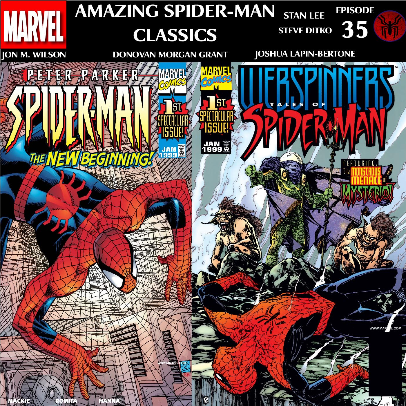 Amazing Spider-Man Classics Episode 35: Peter Parker (Vol II) 1 & Webspinners 1
