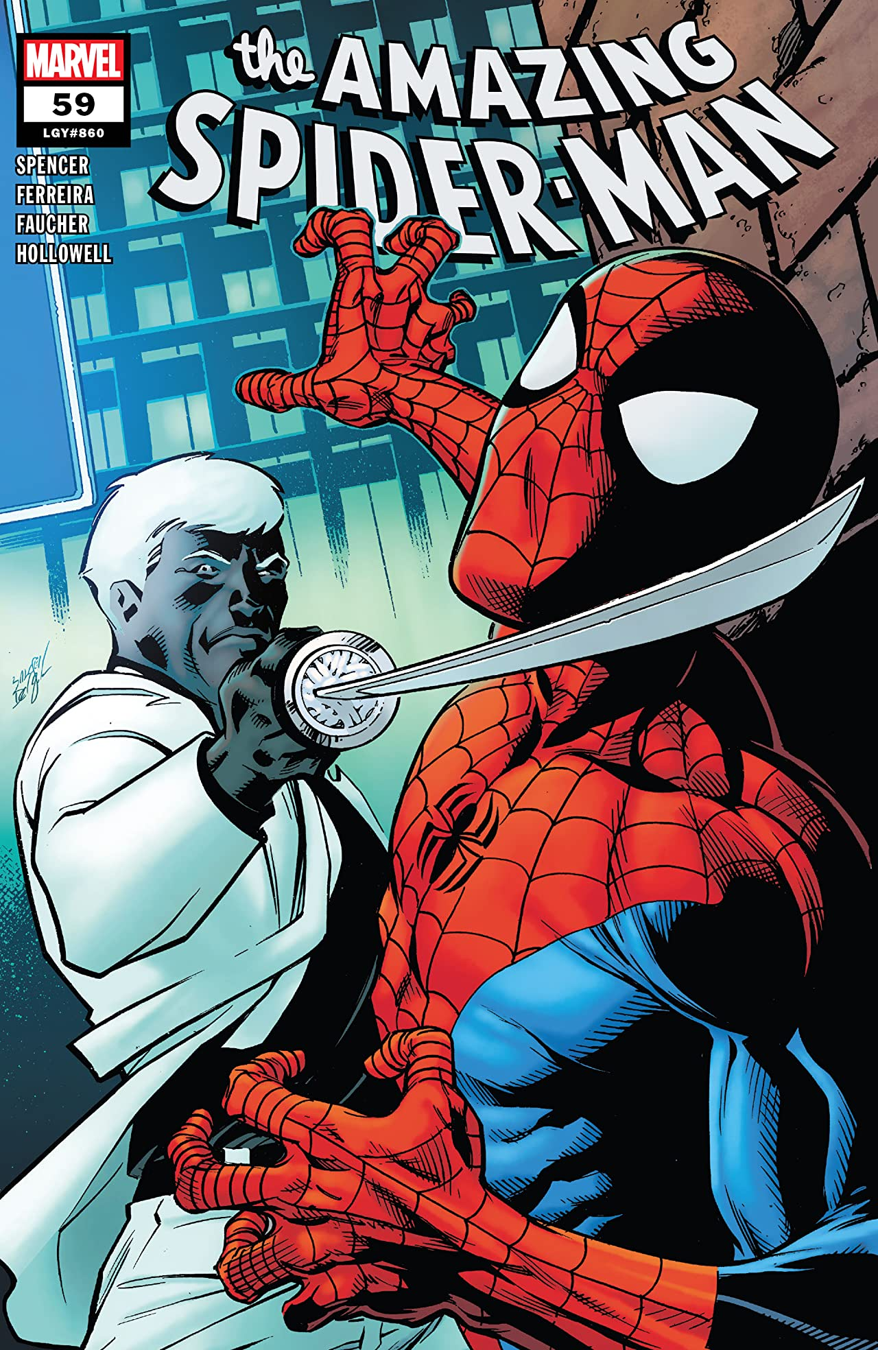 REVIEW: AMAZING SPIDER-MAN #59