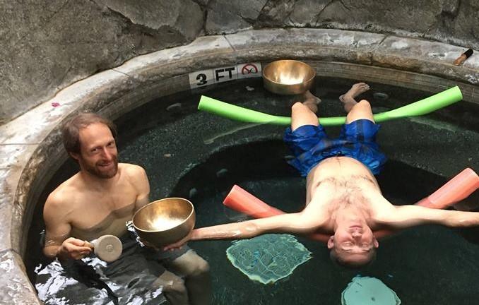 Kirk gary hot tub