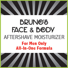 Bruno's Aftershave and Beard Oil Moisturizer – 4oz.