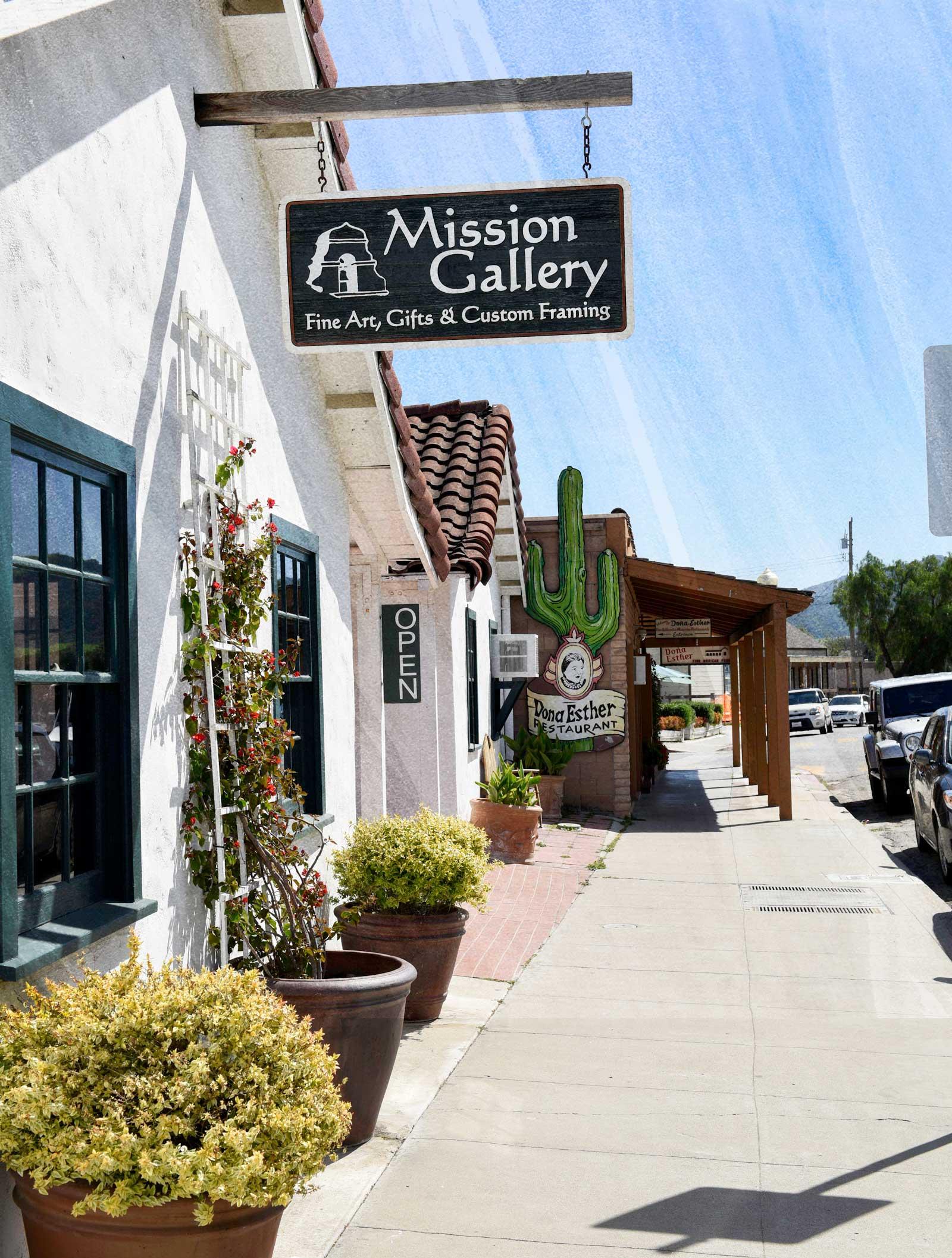 San Juan Bautista Mission Gallery
