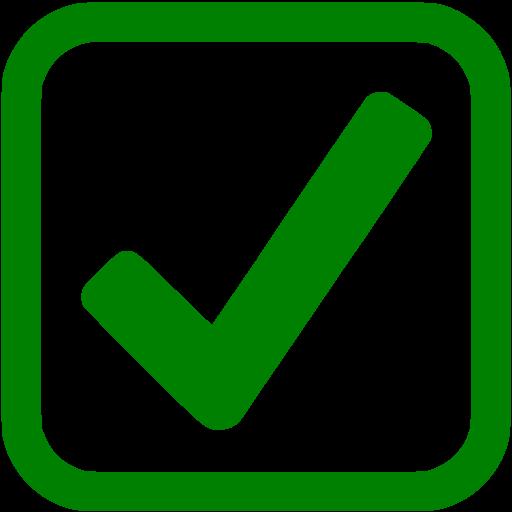 Green Checkbox Icon