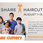 Get a Hair Cut at Hair Cuttery and Give Back: