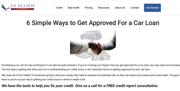 Ellie Hirsch Credit Repair