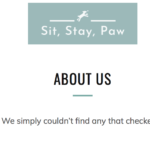 Website Copy for Pet Industry