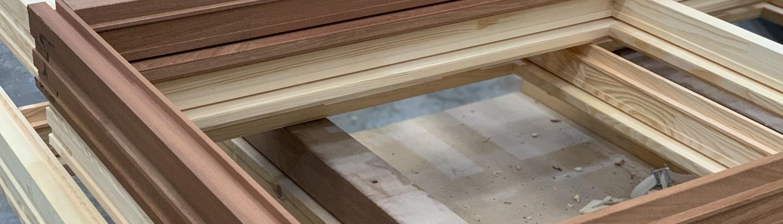 Green Window frame kozijnen Production 1500-430