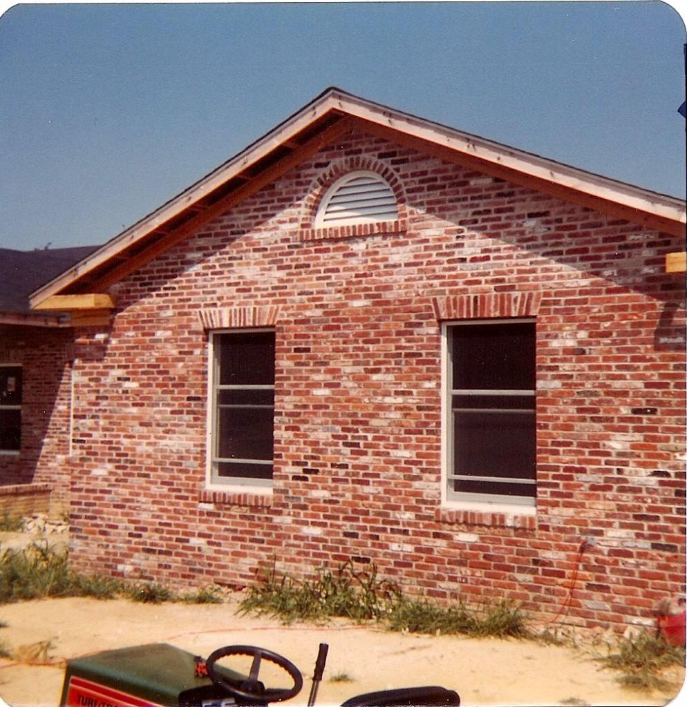 brick masonry work by Gary Clift