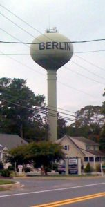 Berlin, Maryland water tower