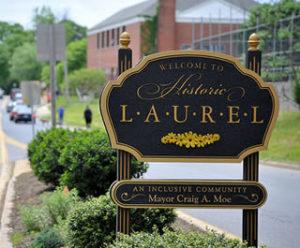laurel maryland sign