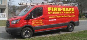 Fire-Safe Chimney Sweeps truck 2020