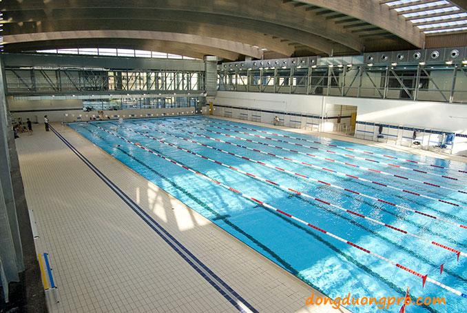 Bể bơi thi đấu trong nhà