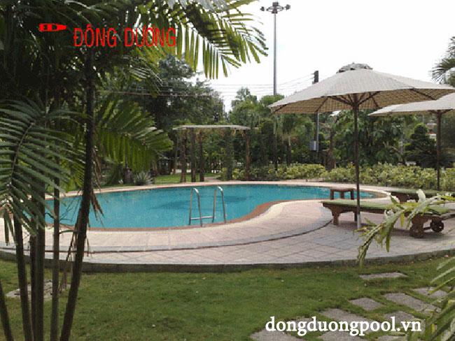 Dự án bể bơi biệt thự