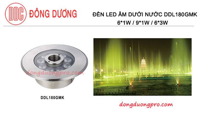 ĐÈN LED CHIẾU SÁNG ĐÀI PHUN NƯỚC - DDL-180GMK