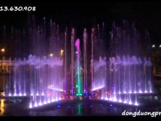 Nhạc nước công viên Sóc Trăng