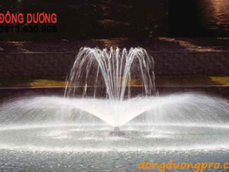 Vòi phun nước hồ tự nhiên