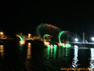 Nhạc nước Tp. Quảng Ngãi ngay khu đô thị Ngọc Bảo Viên