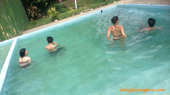 Các nguyên nhân làm bể bơi bị đục
