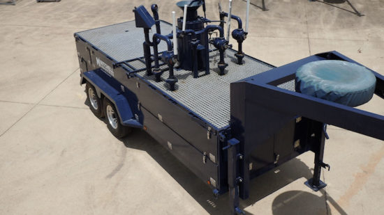 Blue Mitchell Industries trailer