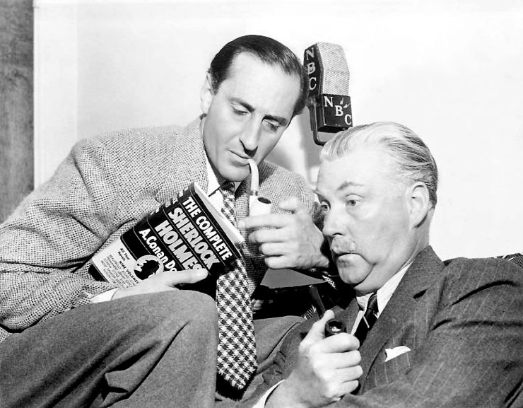 Partial NBC Radio 12/25/1939 Broadcast of The Three Garridebs with Rathbone & Bruce