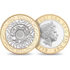 QEII 2014 Two Pound