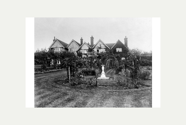 Windlesham, the Crowborough home of Sir Arthur and Lady Conan Doyle, and starting point for Scout treasure hunts.