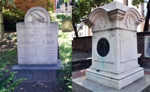 Poe Grave site