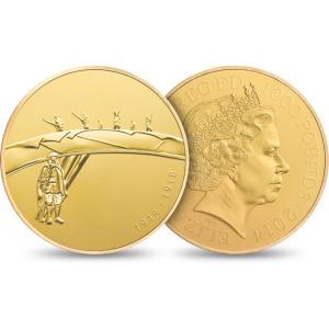 QEII WWI 1000 Pound Gold