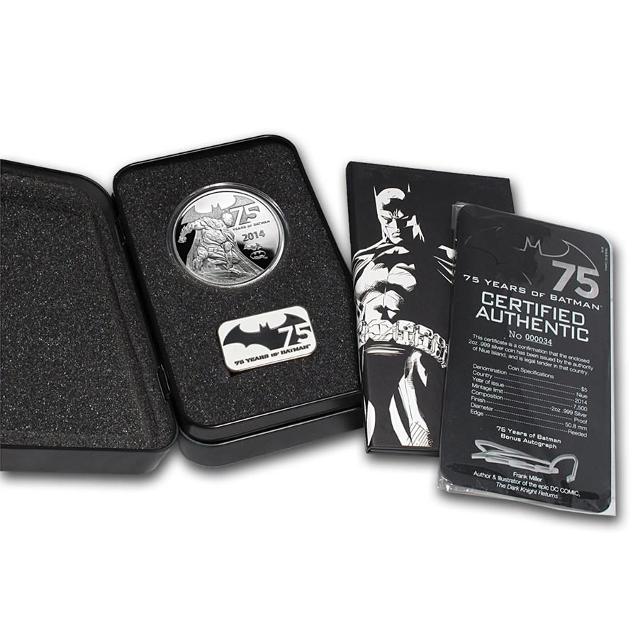 Niue Batman Silver Extras