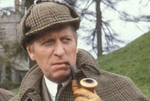 Tom Baker as Sherlock