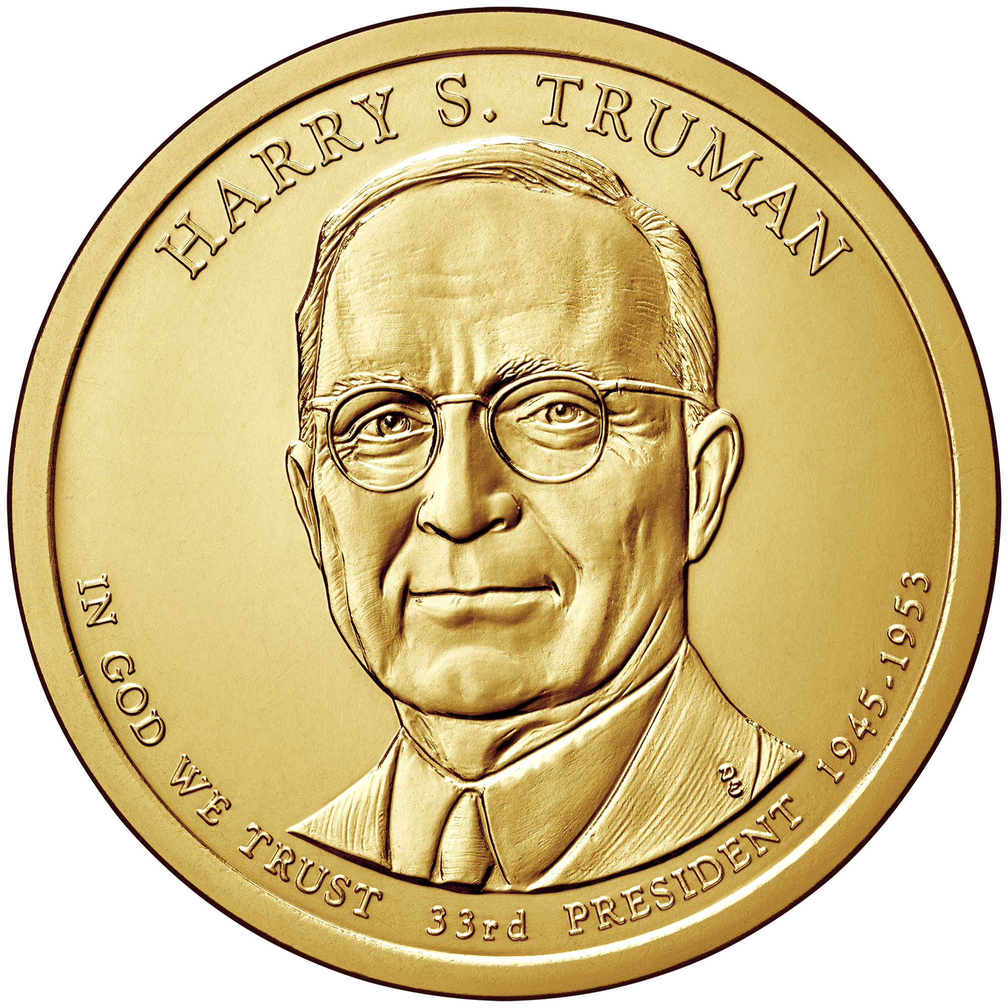 Harry S. Truman $1 Coin To Be Available February 5th