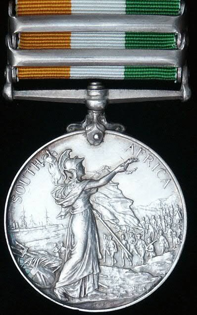 British Campaign Medals of the Second Boer War