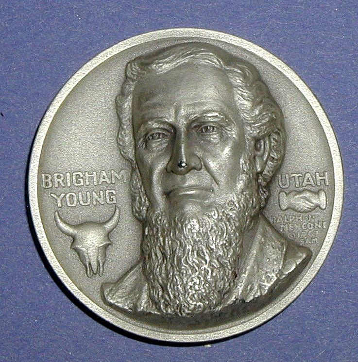 Medallic Portraits of Brigham Young