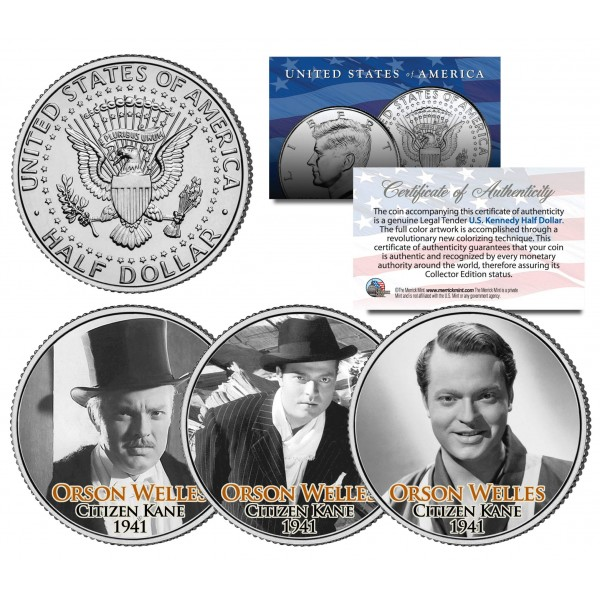 Citizen Kane half dollars