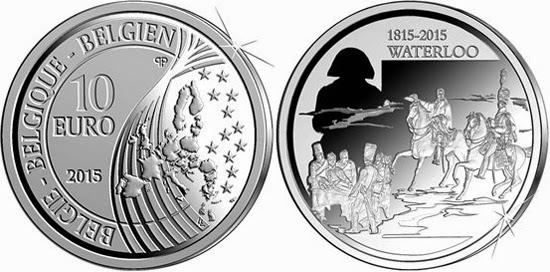 2015 Belgium Waterloo 10 Euro
