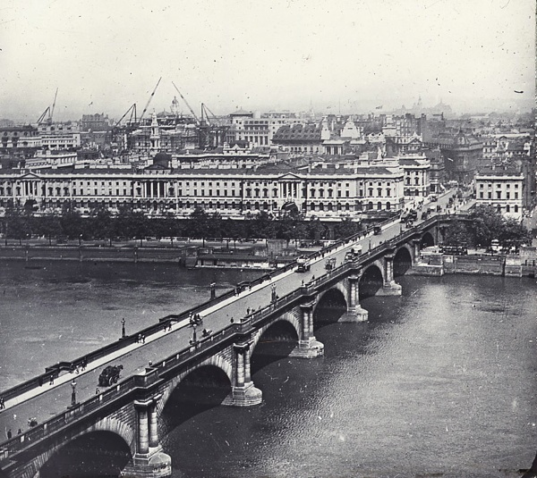 Waterloo Bridge circa 1910