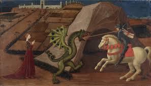 st george slaying dragon