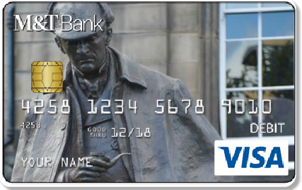 Create a Sherlockian Debit Card