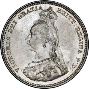 Victoria Jubilee Shilling OBV