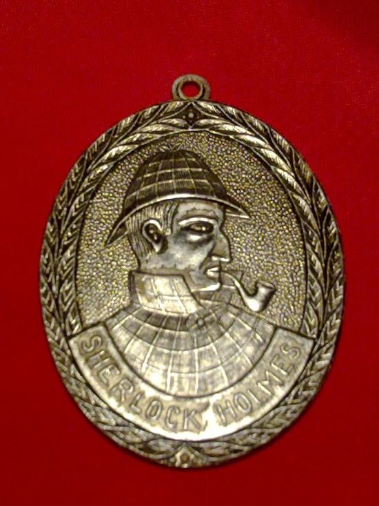 HolmeWork Assignment for August: An Aluminum Holmes Medal